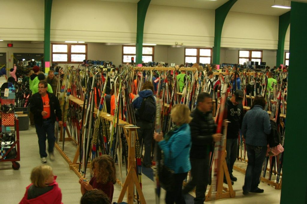 Lots of great skis and boots for sale.