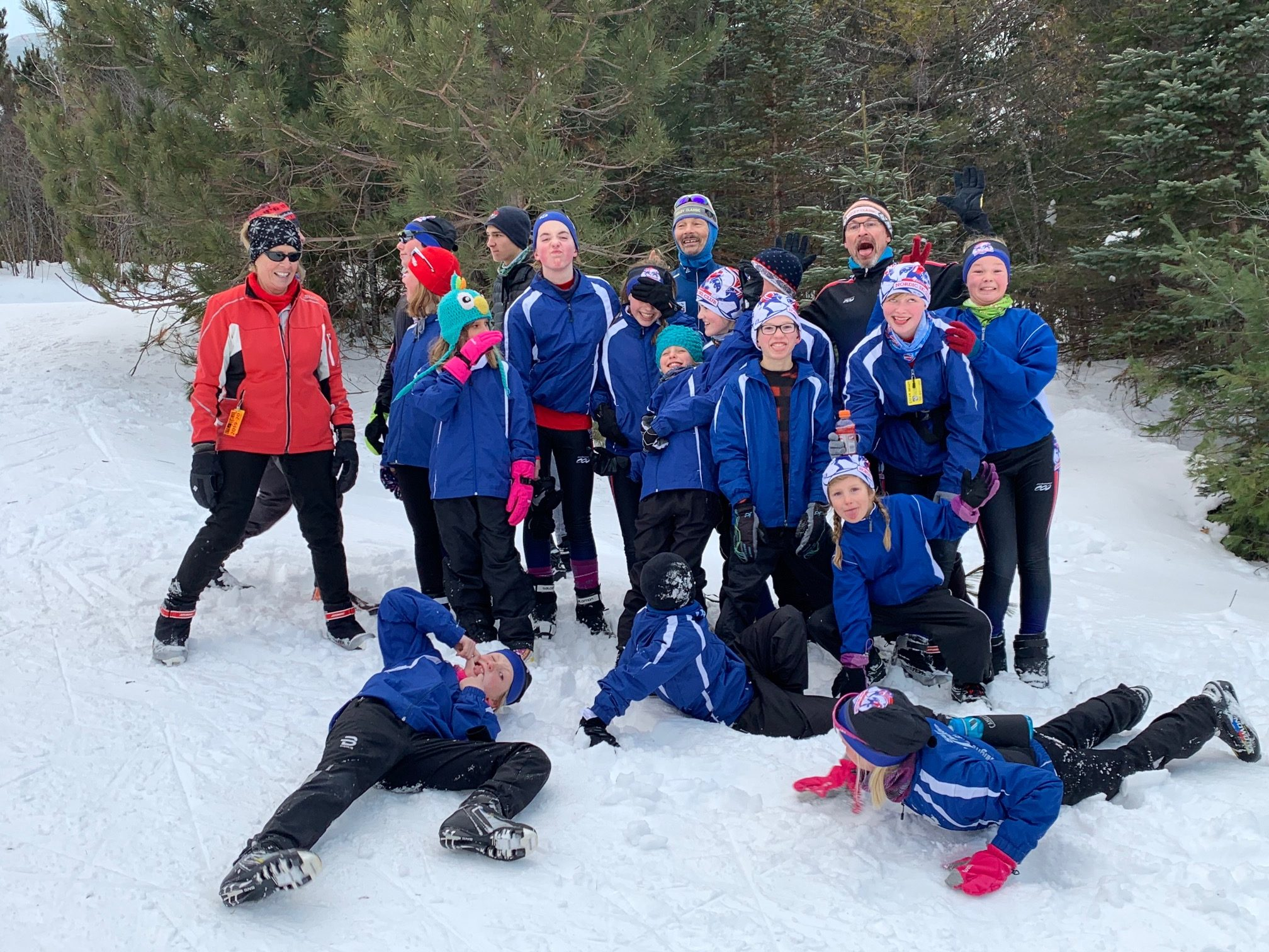 Ski Camp 2019 silly picture